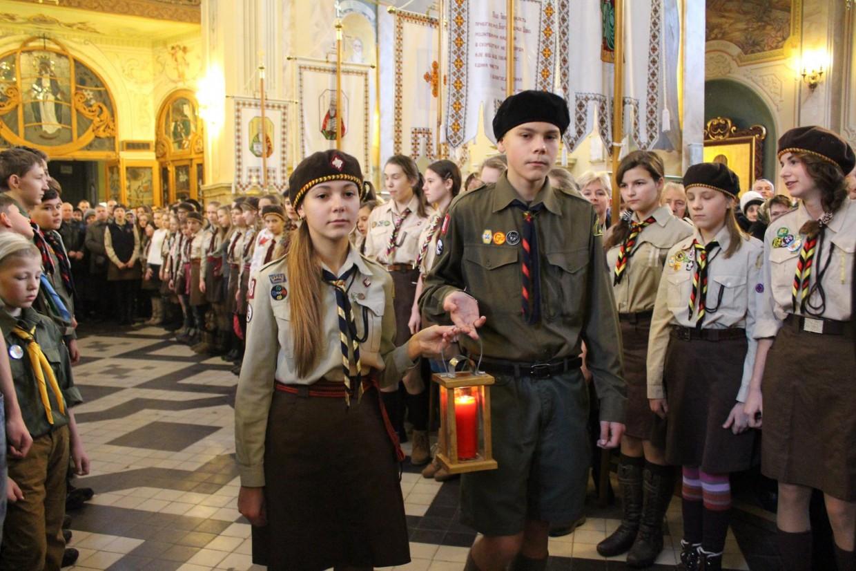 Пластуни передали ВВМ Архикатедральному Собору Непорочного Зачаття